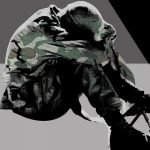 Tentara yang mengalami post-traumatic stress disorder